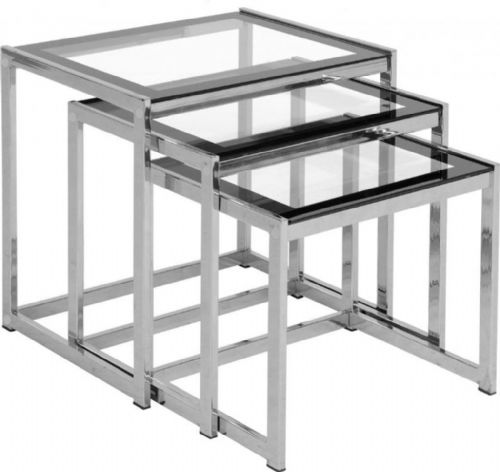 Meo clear Nest of Tables